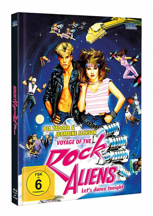 Voyage of the Rock Aliens - Mediabook - Cover A [Blu-ray+DVD]
