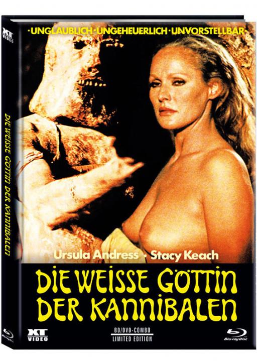 Die weisse Göttin der Kannibalen - Limited Mediabook - Cover A [Blu-ray+DVD]