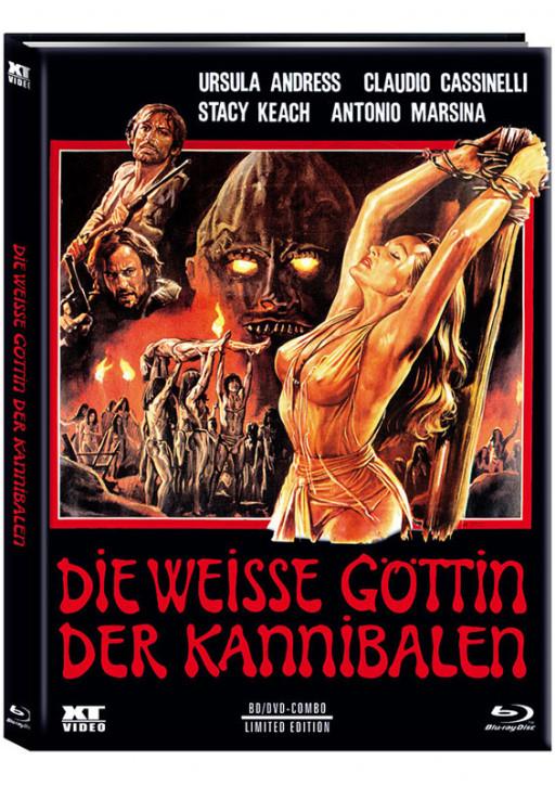 Die weisse Göttin der Kannibalen - Limited Mediabook - Cover B [Blu-ray+DVD]