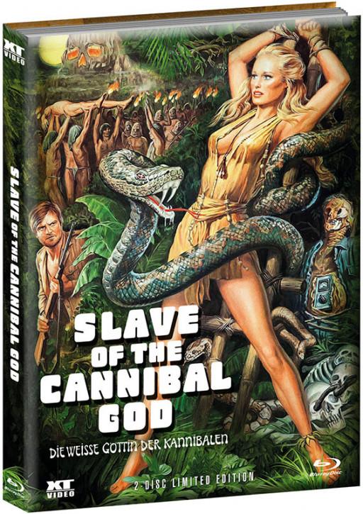 Die weisse Göttin der Kannibalen - Limited Mediabook (wattiert) - Cover B [Blu-ray+DVD]