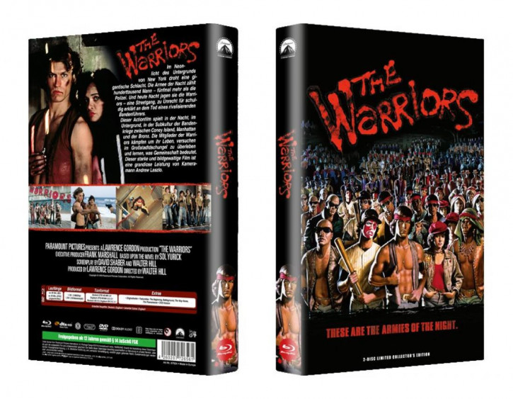 The Warriors - große Hartbox - Cover A [Blu-ray]