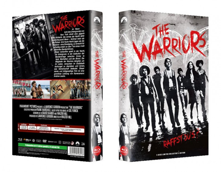 The Warriors - große Hartbox - Cover B [Blu-ray]