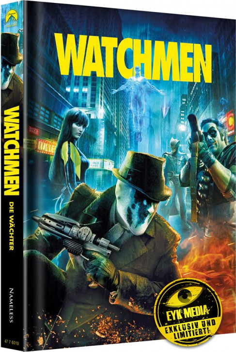 Watchmen - Die Wächter - Ultimate-Cut - Limited Mediabook Edition - Cover A [Blu-ray+DVD]