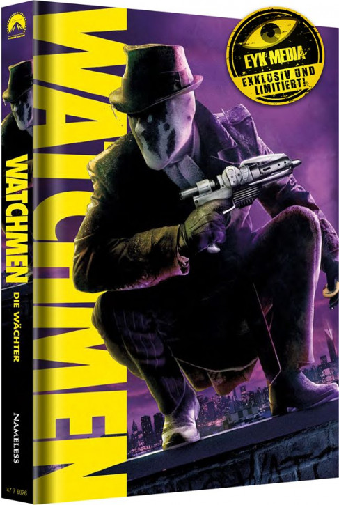 Watchmen - Die Wächter - Ultimate-Cut - Limited Mediabook Edition - Cover B [Blu-ray+DVD]