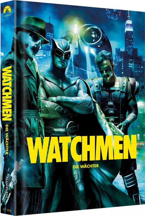 Watchmen - Die Wächter - Ultimate-Cut - Limited Mediabook Edition - Cover C [Blu-ray+DVD]