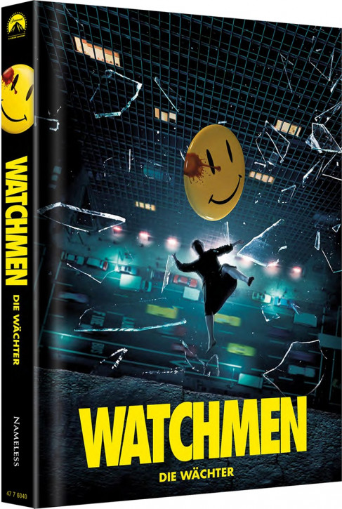 Watchmen - Die Wächter - Ultimate-Cut - Limited Mediabook Edition - Cover D [Blu-ray+DVD]