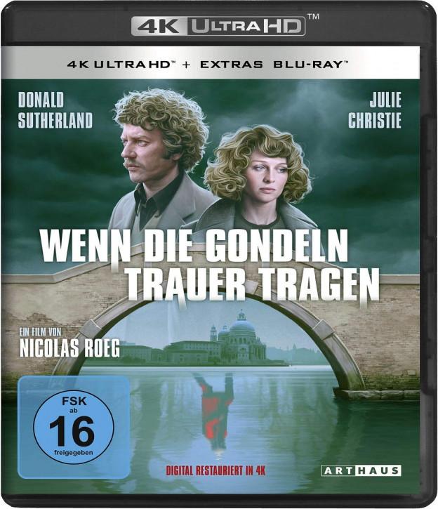 Wenn die Gondeln Trauer tragen [4K UHD+Blu-ray]
