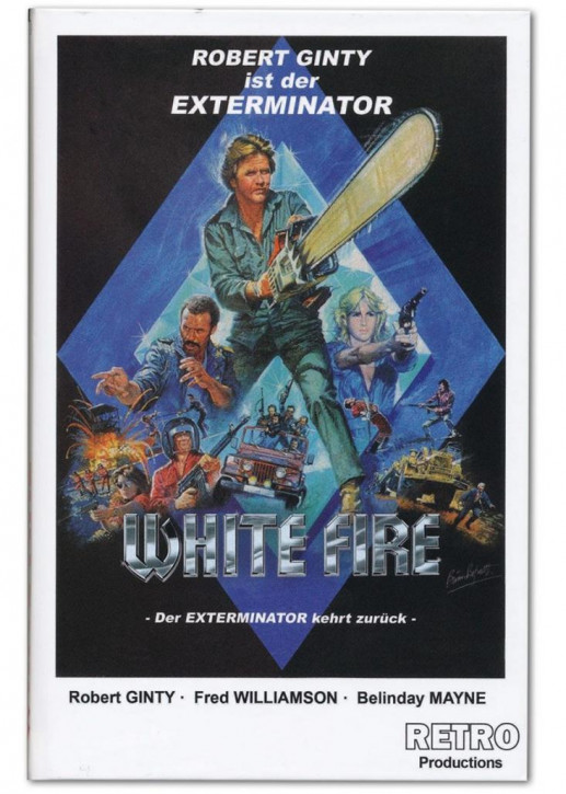 White Fire - Große Hartbox - Cover B [DVD]
