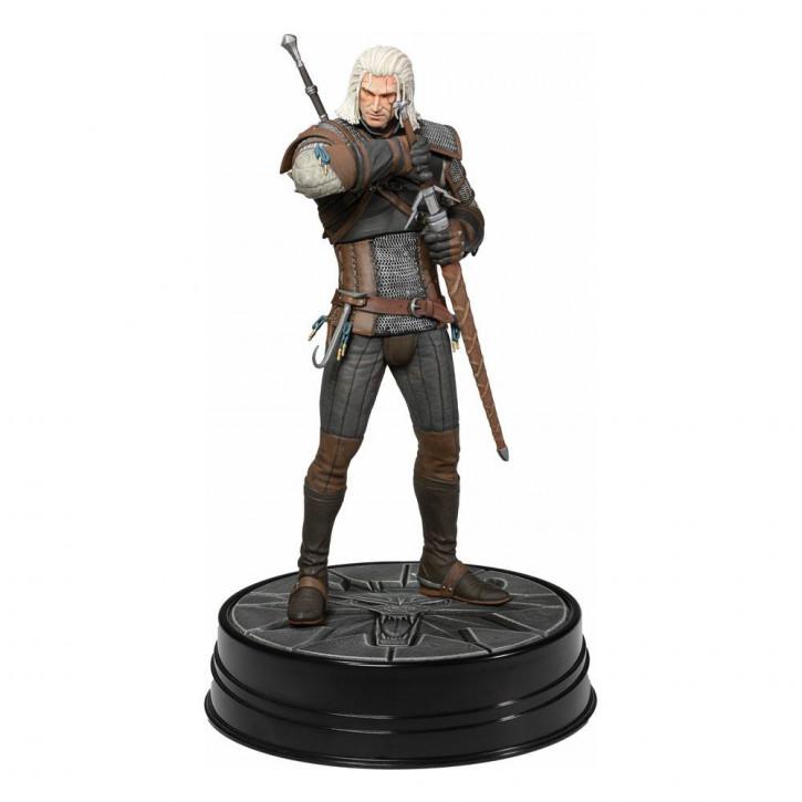 Witcher 3 Wild Hunt - PVC Deluxe Statue - Heart of Stone Geralt