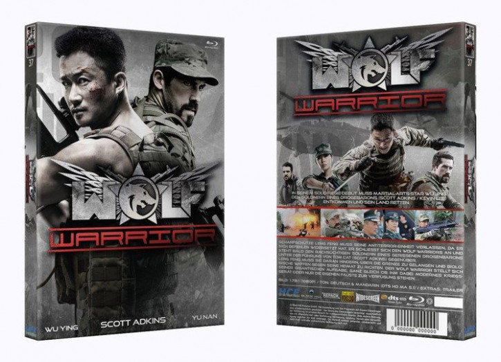 Wolf Warrior - Große Hartbox [Blu-ray]