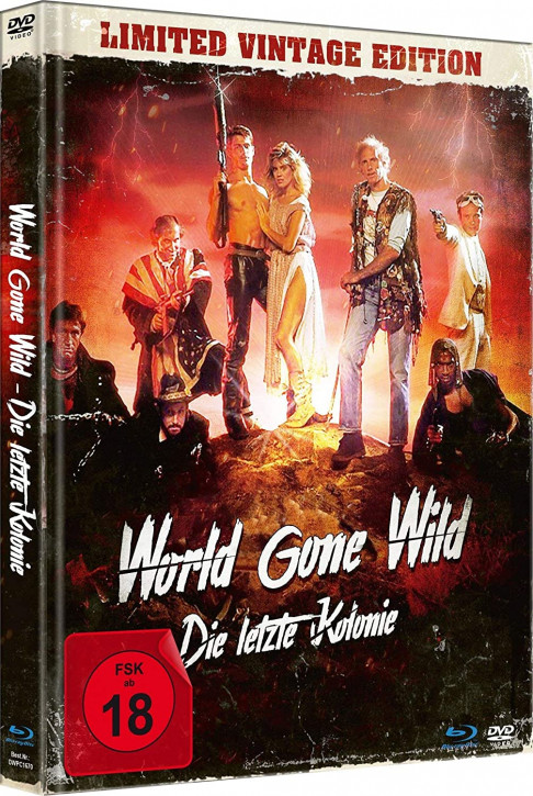World Gone Wild - Die letzte Kolonie - Limited Mediabook Edition [Blu-ray+DVD]