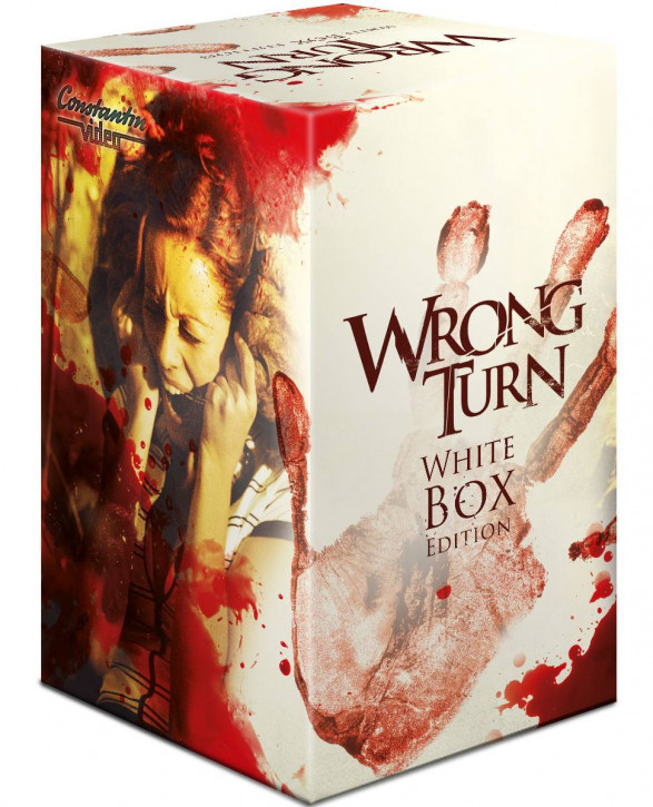 Wrong Turn 1-6  White Box Edition Schuber