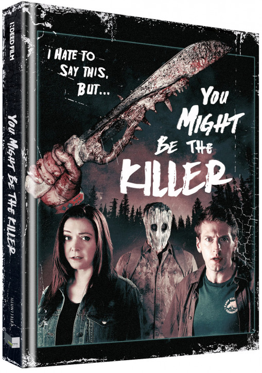 You Might Be The Killer - Limited Collectors Edition - Cover B [Blu-ray+DVD]