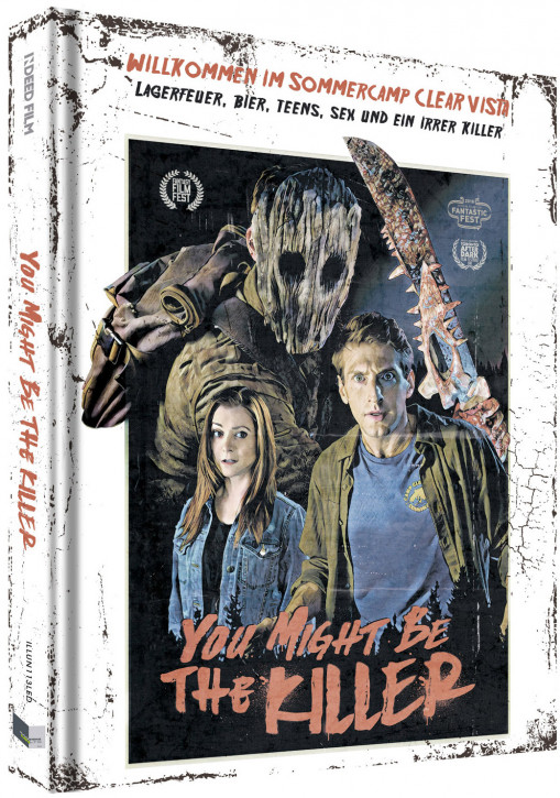 You Might Be The Killer - Limited Collectors Edition - Cover D [Blu-ray+DVD]