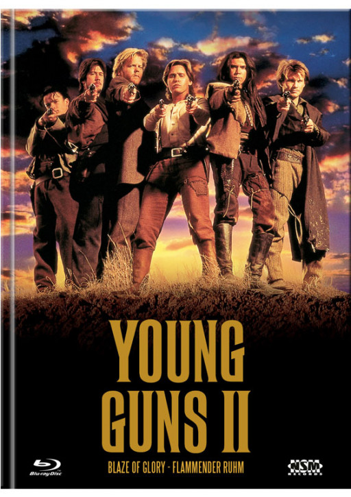 Young Guns 2 - Blaze of Glory - Mediabook - Cover A [Blu-ray+DVD]