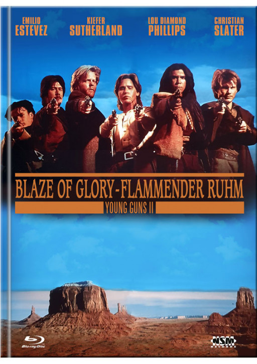 Young Guns 2 - Blaze of Glory - Mediabook - Cover B [Blu-ray+DVD]