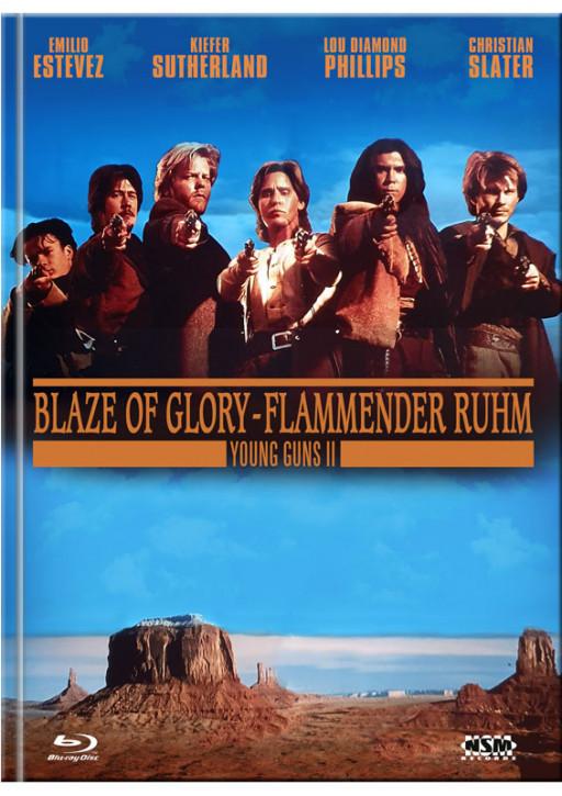 Young Guns 2 - Blaze of Glory - Mediabook - Cover B [Blu-ray+DVD]