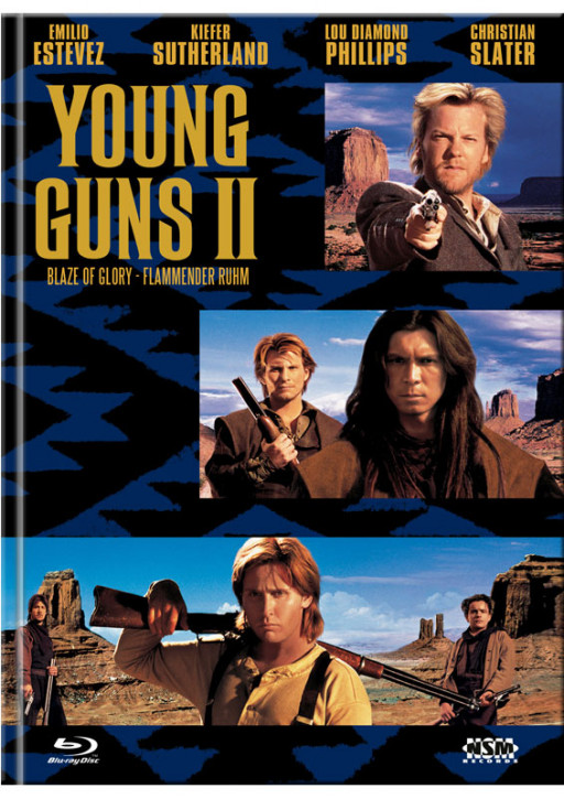 Young Guns 2 - Blaze of Glory - Mediabook - Cover C [Blu-ray+DVD]