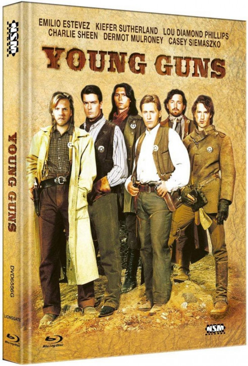 Young Guns - Limited Collector's Edition - Cover G [Blu-ray+DVD]