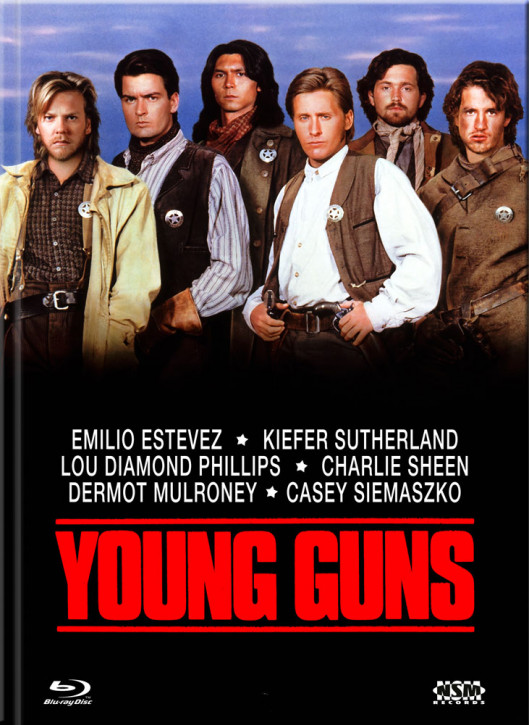 Young Guns - Limited Collector's Edition - Cover A [Blu-ray+DVD]