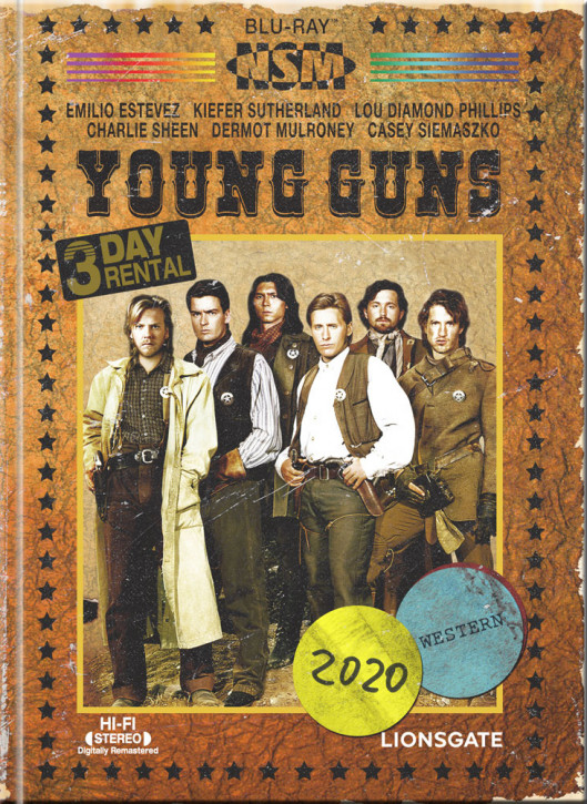 Young Guns - Limited Collector's Edition - Cover B [Blu-ray+DVD]