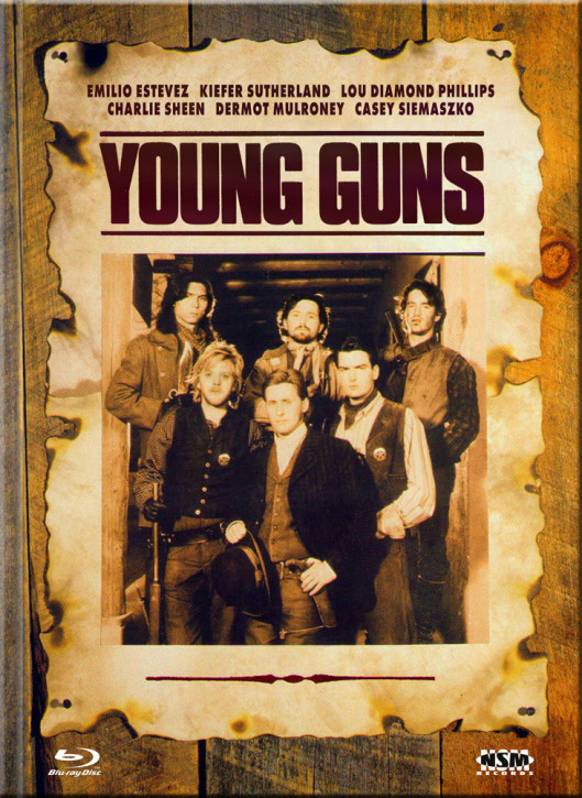 Young Guns - Limited Collector's Edition - Cover D [Blu-ray+DVD]