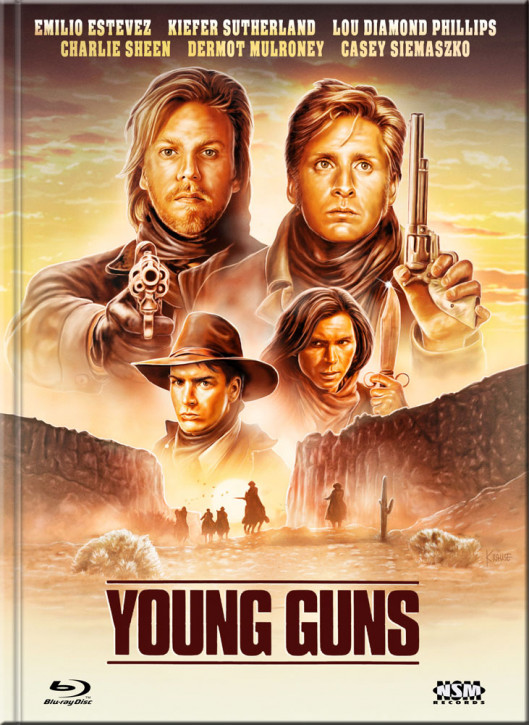 Young Guns - Limited Collector's Edition - Cover E [Blu-ray+DVD]