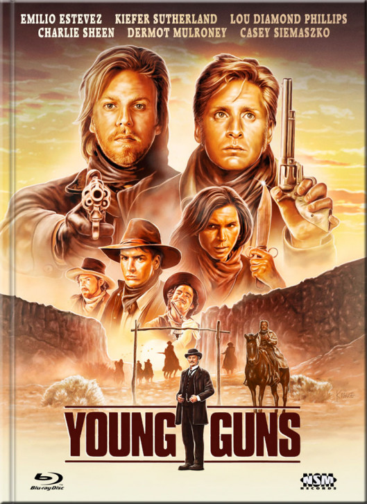 Young Guns - Limited Collector's Edition - Cover F [Blu-ray+DVD]