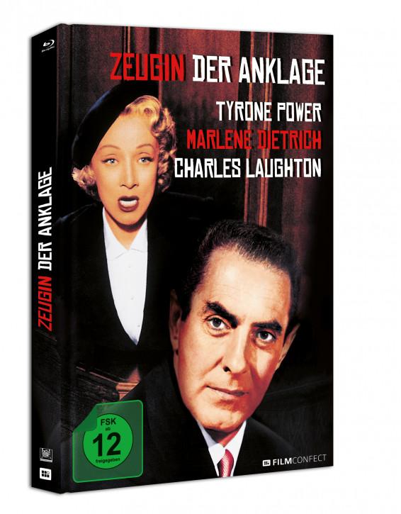 Zeugin Der Anklage - Mediabook [Blu-ray]
