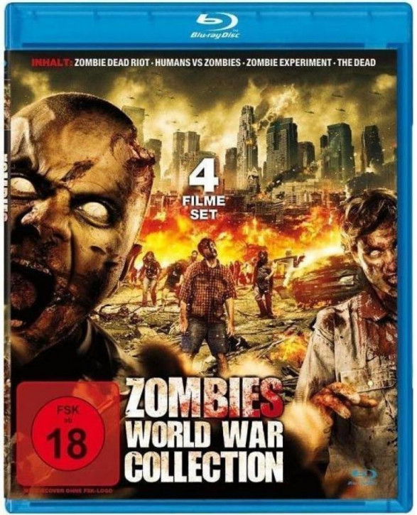 Zombie World War Collection [Blu-ray]