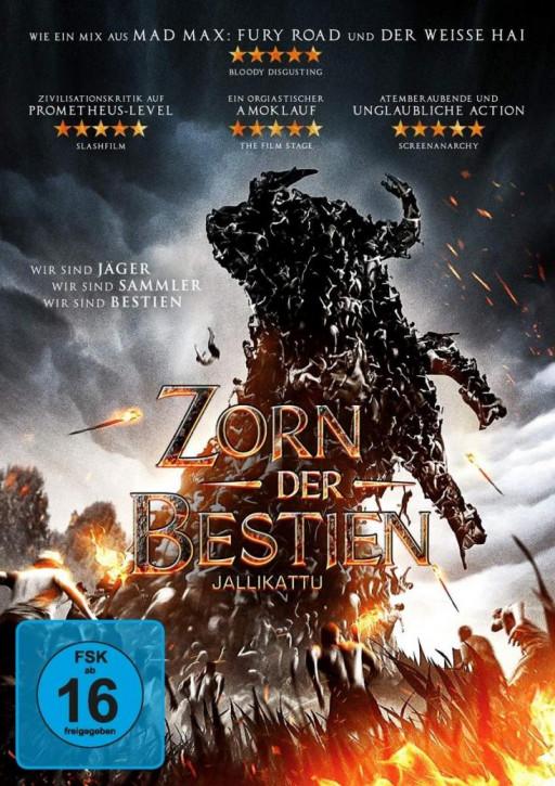 Zorn der Bestien - Jallikattu [DVD]