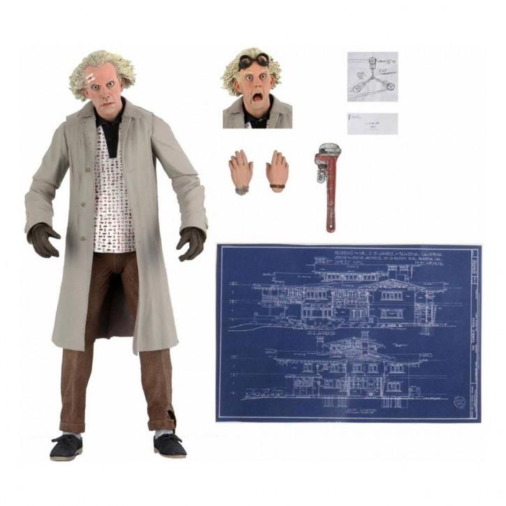Zurück in die Zukunft - Actionfigur Ultimate - Doc Brown