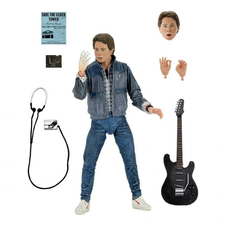 Zurück in die Zukunft - Actionfigur - Ultimate Marty McFly