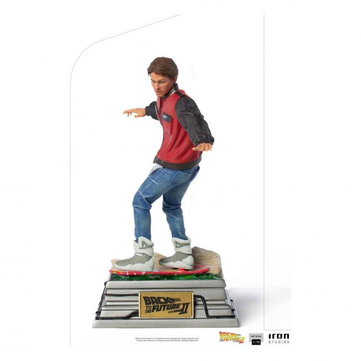 Zurück in die Zukunft II - Art Scale Statue 1/10 - Marty McFly on Hoverboard