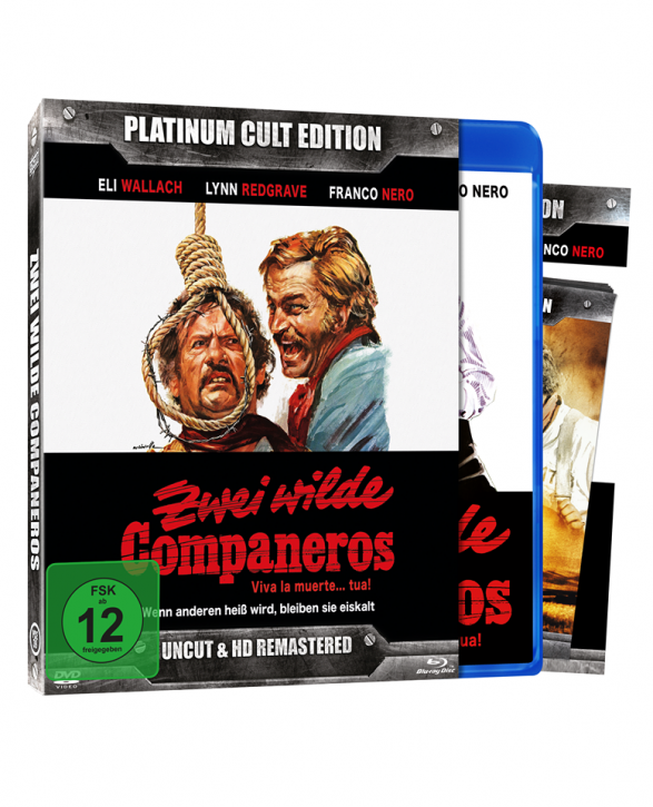 Zwei wilde Companeros (Platinum-Cult-Edition) [Blu-ray+DVD]