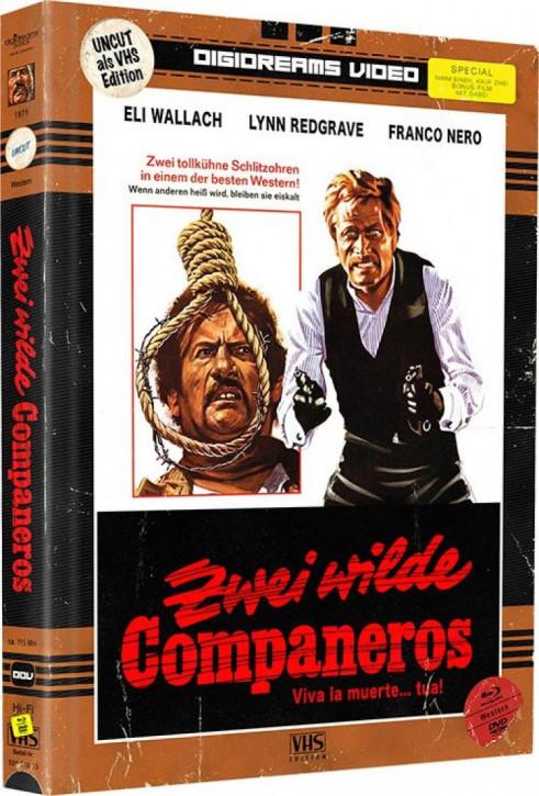 Zwei wilde Companeros - Limited Mediabook VHS Edition [Blu-ray+DVD]