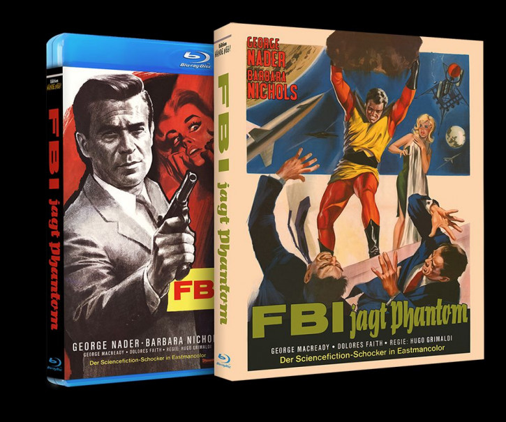 FBI jagt Phantom [Blu-ray]
