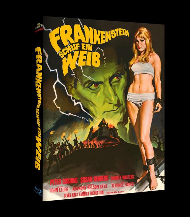 Frankenstein schuf ein Weib - Hammer Edition Nr. 30 - Cover A [Blu-ray+DVD]