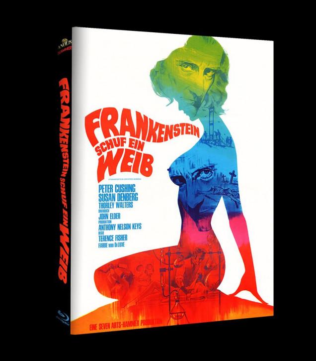 Frankenstein schuf ein Weib - Hammer Edition Nr. 30 - Cover B [Blu-ray+DVD]