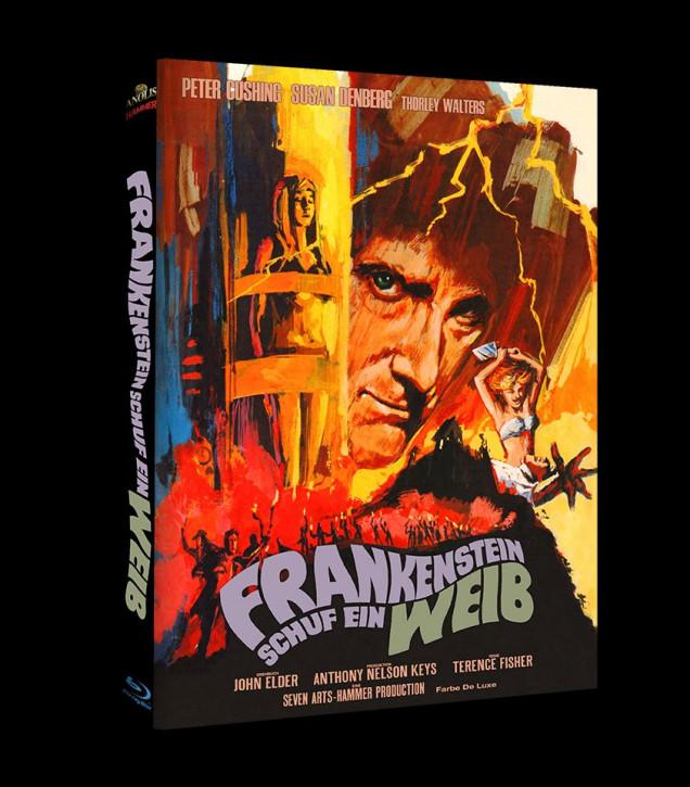 Frankenstein schuf ein Weib - Hammer Edition Nr. 30 - Cover C [Blu-ray+DVD]