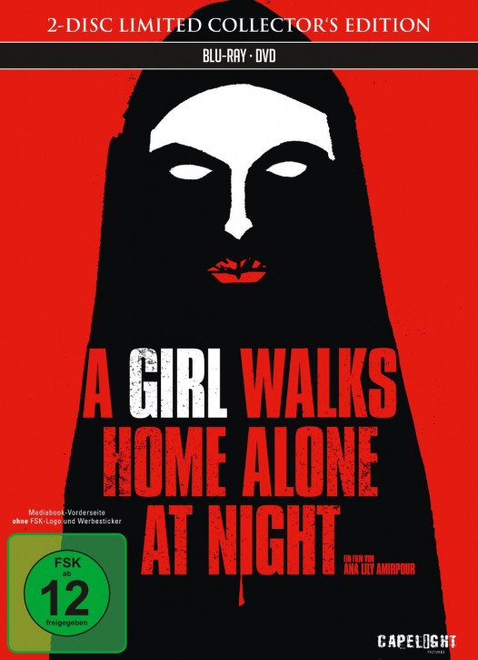 A Girl Walks Home Alone at Night - Limited Collector's Edition [Bluray+DVD]