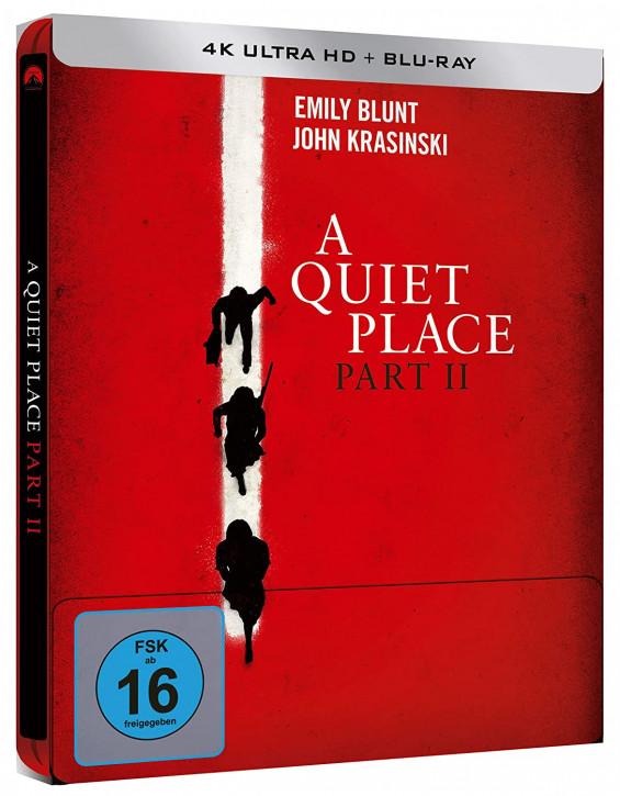 A Quiet Place 2 - Steelbook [4K UHD+Blu-ray]