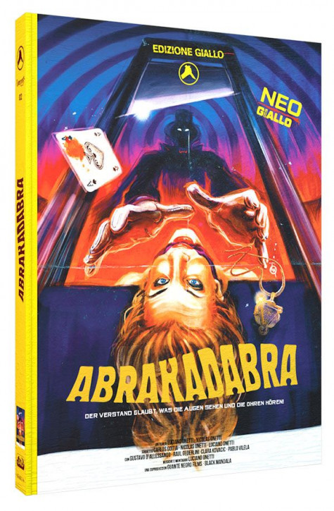 Abrakadabra - Limited Mediabook Edition - Cover A [Blu-ray+DVD+CD]