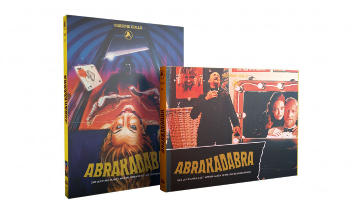 Abrakadabra - Limited Mediabook Edition - Cover Q [Blu-ray+DVD+CD]
