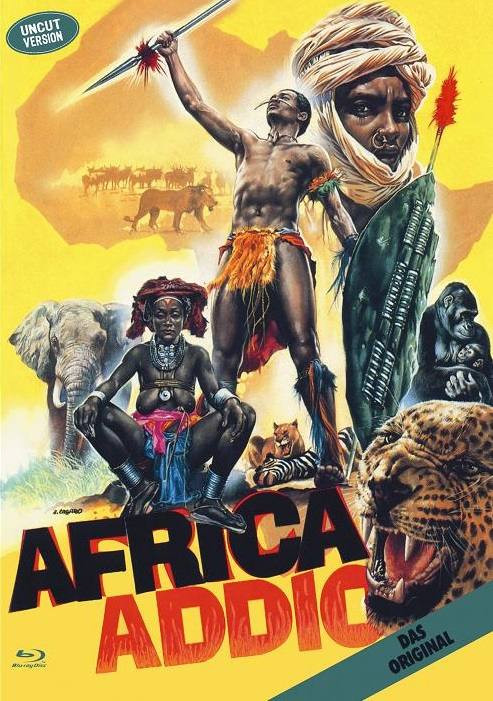 Africa Addio - kleine Hartbox [Blu-ray]