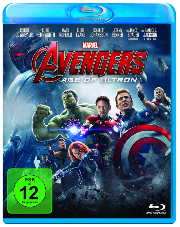 Marvel's The Avengers - Age of Ultron [Blu-ray]