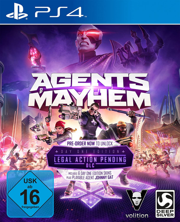 Agents of Mayhem - Day One Edition [PS4]