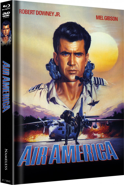 Air America - Limited Mediabook Edition - Cover A [Blu-ray+DVD]