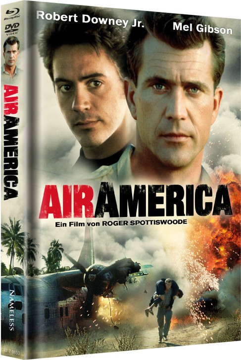 Air America - Limited Mediabook Edition - Cover B [Blu-ray+DVD]