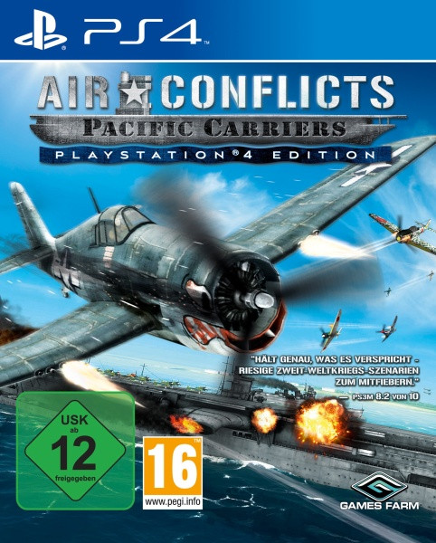 Air Conflicts: Pacific Carriers - PlayStation®4 Edition [PS4]
